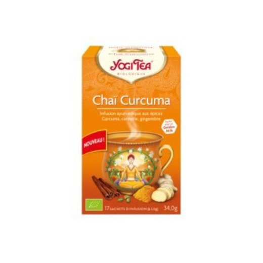 Yogi Tea Chai Curcuma 17 sachets