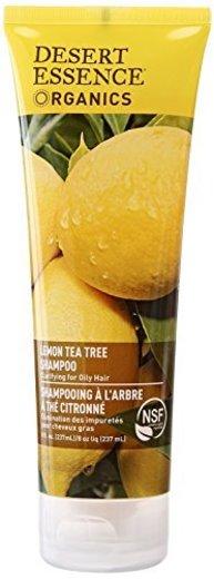 Desert Essence Lemon Tea Tree Shampoo Unisex No profesional Champú 237ml -