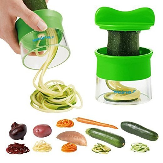 Cortador de Verduras Frutas en Espiral Multifuncional WEINAS® Mini Máquina de Cortar
