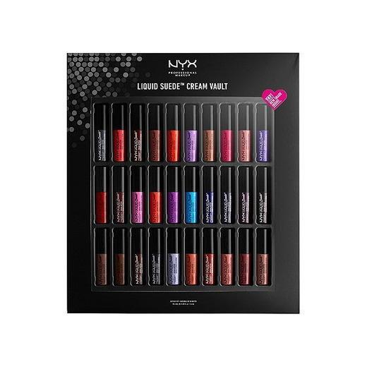 NYX PROFESSIONAL MAKEUP Liquid Suede Cream Lipstick Vault II