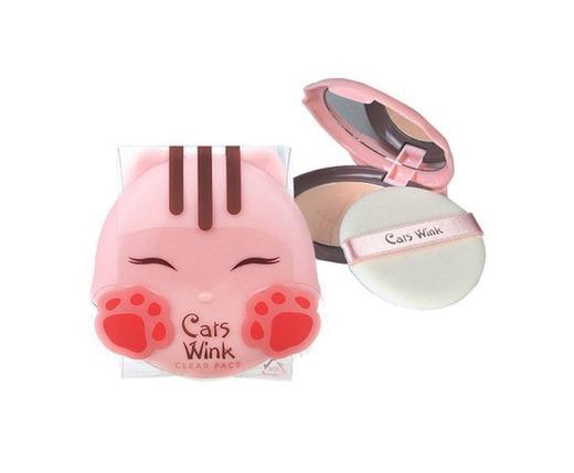 TONYMOLY gatos guiño claro Pacto # 2claro beige/Corea cosméticos