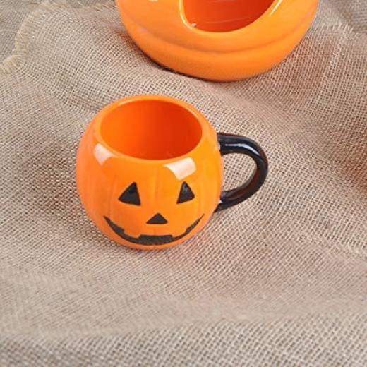 HUIJIA Japón Daiso Daiso auténtica Cabeza de Calabaza de Halloween azada murciélago