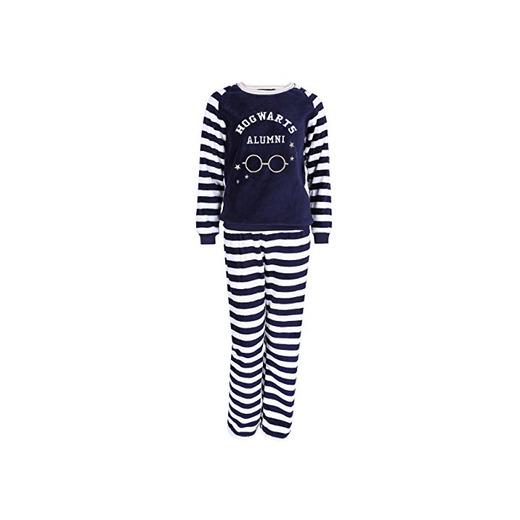 Pijama azul marino de forro polar HARRY POTTER