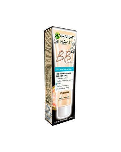 Garnier Skin Active BB Cream Matificante Crema Correctora y Anti Imperfecciones para