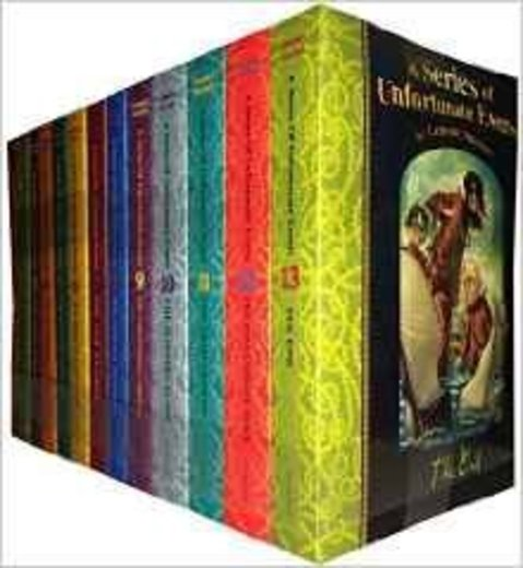 A Series Of Unfortunate Events Lemony Snicket 13 Books Collection Pack Set