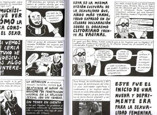 Comic Hombres feministas El viaje
