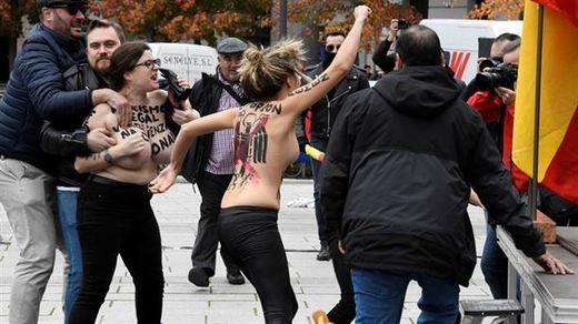 Artículo sobre la protesta de Femen en Madrid