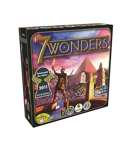Asmodee 7 Wonders, juego de mesa