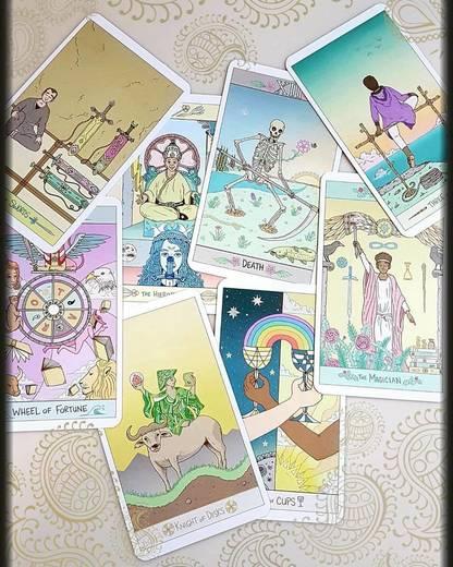 The Luna Sol Tarot (plus free tarot bag!) - Liminal 11