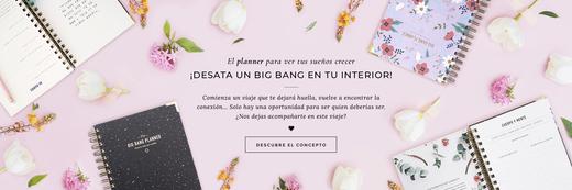 THE BIG BANG PLANNER - Papelería para inspirarte