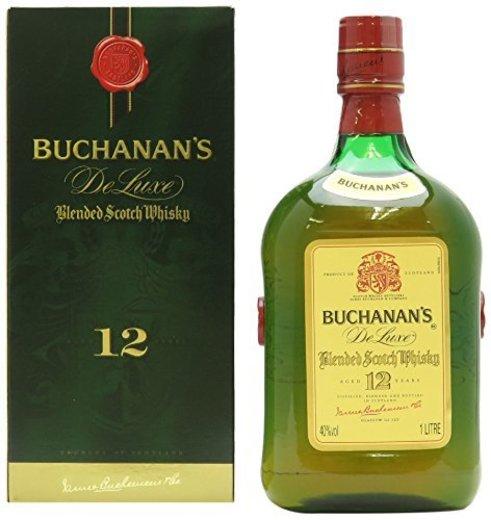 Buchanan's 12 años 1 litro