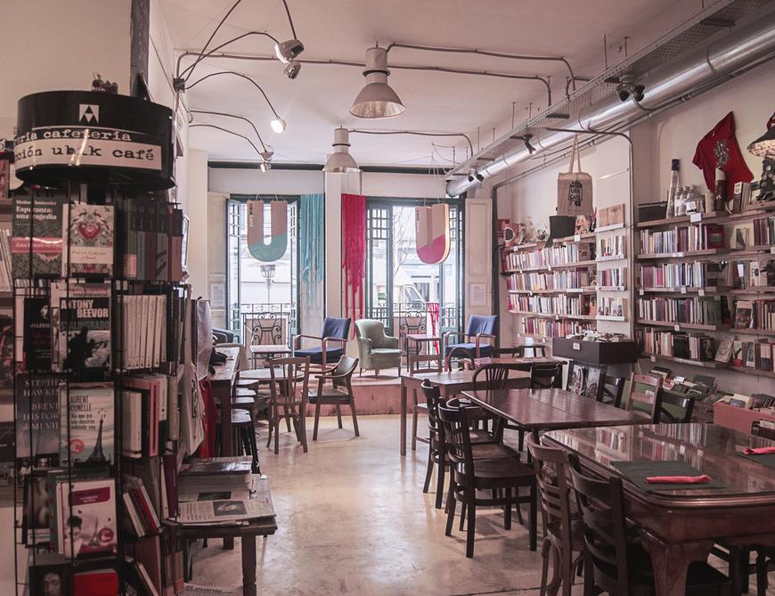Ubik Café Cafetería Librería