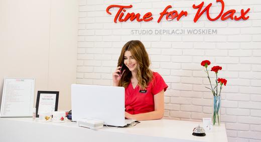 Time For Wax. Studio depilacji woskiem