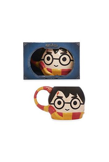 Taza Harry Potter con Bufanda Griffindor