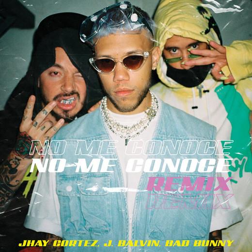 No Me Conoce - Remix