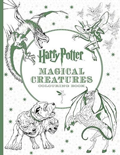 Harry Potter Magical Creatures Colouring Book [Paperback] NA