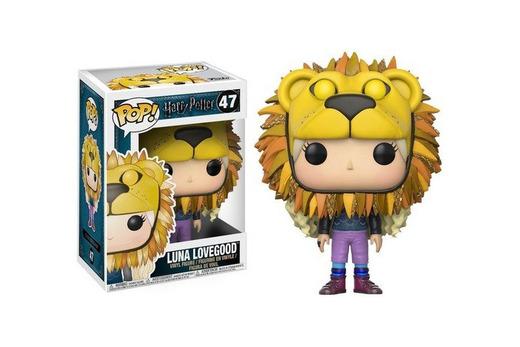 HARRY POTTER Figura de Vinilo Luna Lovegood with Lion Head