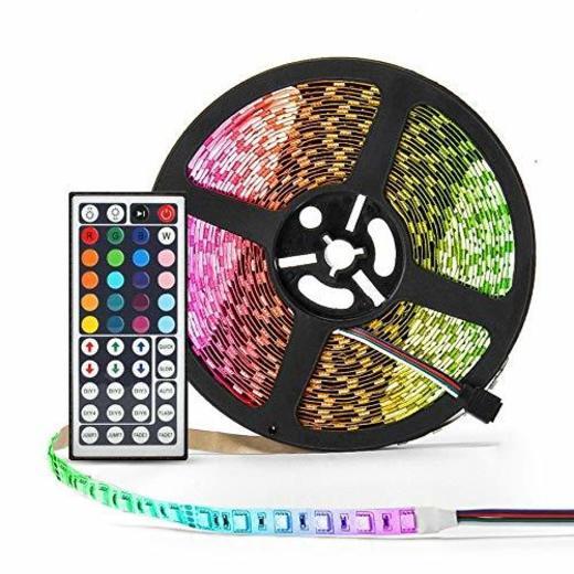 Simfonio Tiras Led RGB 5 Metros 300 Leds 5050 SMD Tira LED