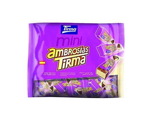 Tirma Ambrosías con Relleno Cubiertas de Chocolate con Leche