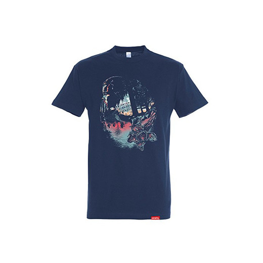 Pampling Camiseta The Upside Down - Stranger Things - Eleven - Color
