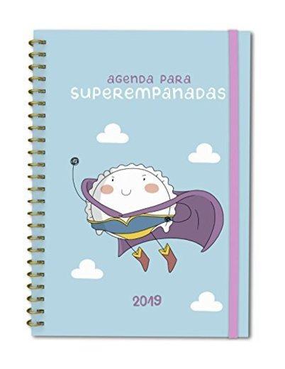 Agenda anual semana/vista Croqueta y Empanadilla 2019: Agenda para superempanadas: 32