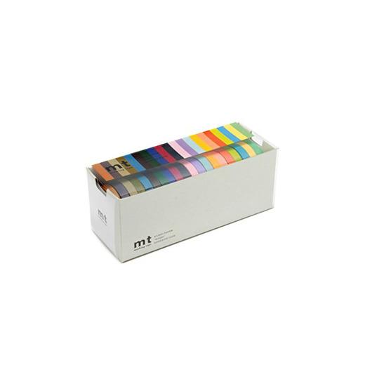MT Masking Tape MT20C - Pack de 20 rollos finos de cinta