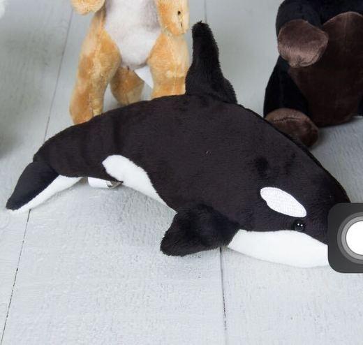 Orca Peluche mini - Natura