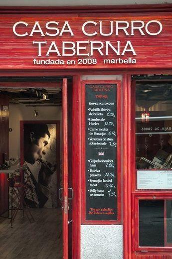Taberna Casa Curro Marbella