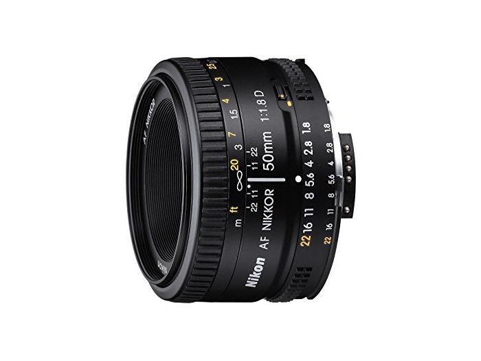 Nikon 50mm f/1.8D AF NIKKOR Negro - Objetivo