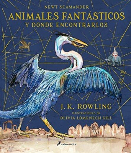 ANIMALES FANTÁSTICOS - ILUSTRADO