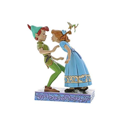 Disney Beso Inesperado-Figurina de Peter Pan y Wendy