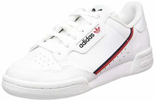 Adidas Continental 80 J, Zapatillas de Deporte Unisex niño, Blanco