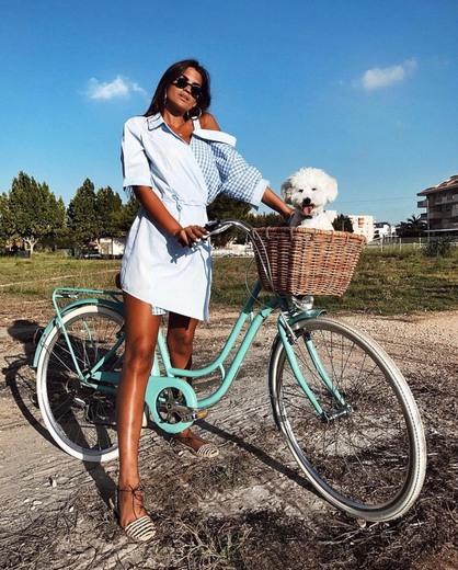 Bicicleta Urbana Vintage 6 Velocidades
