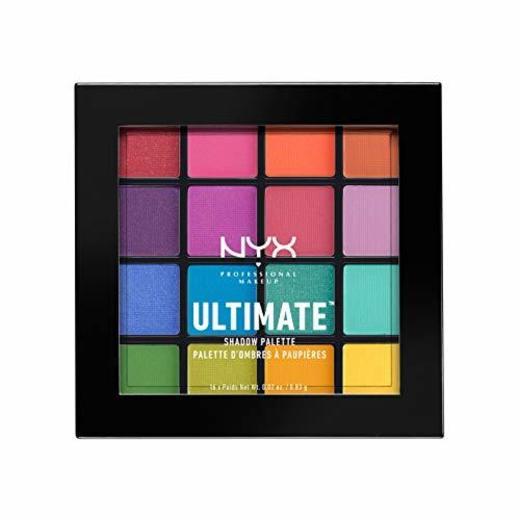 NYX Professional Makeup Paleta de sombra de ojos Ultimate Shadow Palette, Pigmentos