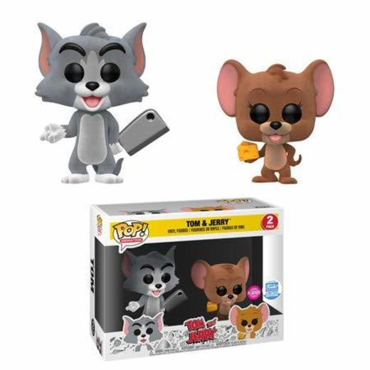 Funko Pop! Animación Tom & Jerry Flocked Two-Pack Edición Limitada Condition Box
