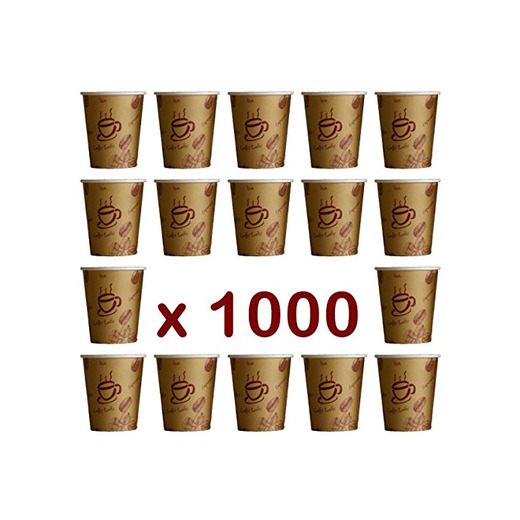 Vasos de cartón 1000 unidades