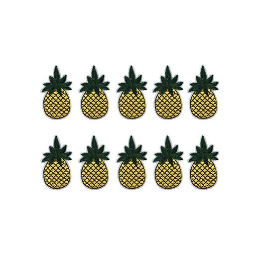 Cdet 10X Paño amarillo de la forma de la fruta de la