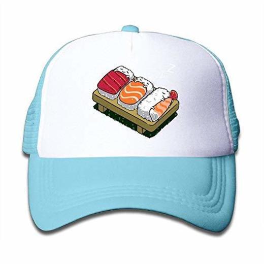 Tboylo Adjustable Caps Kids Cartonnn Funny Sushi Sleep Dream Snapback Mesh Hats