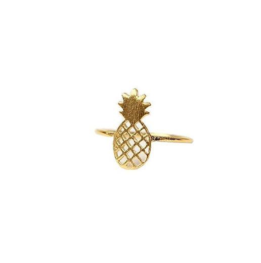 Tamaño 7 anillo piña Boho Chic