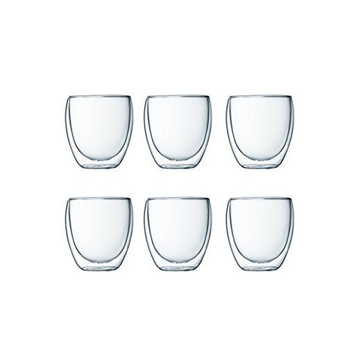 Bodum  Pavina -Set de 6 vasos térmicos