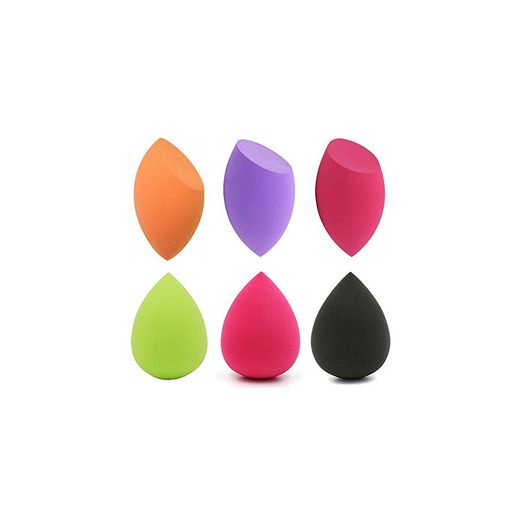 Fatetec Sponge Makeup Esponjas Para Maquillaje CosméTico Liquid Base De Maquillaje Crema