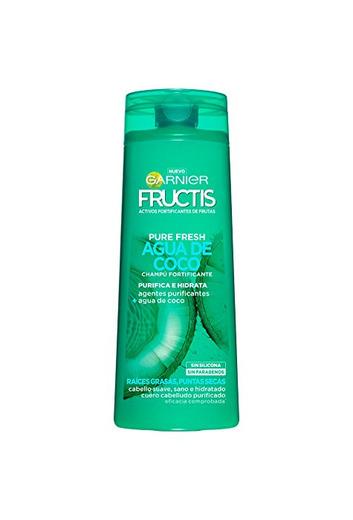 Garnier Fructis Champú Pure Fresh Agua de Coco