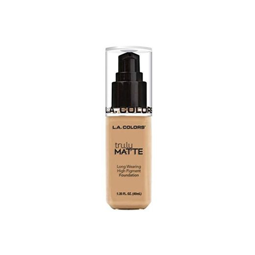 L.A. COLORS Truly Matte Foundation - Natural