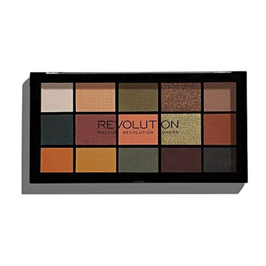 Maquillaje Revolution Reloaded Sombras palé Iconic Division