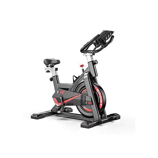 Divgdovg Bicicleta Estática para El Hogar Bicicleta de Spinning. Bicicleta Estática Vertical