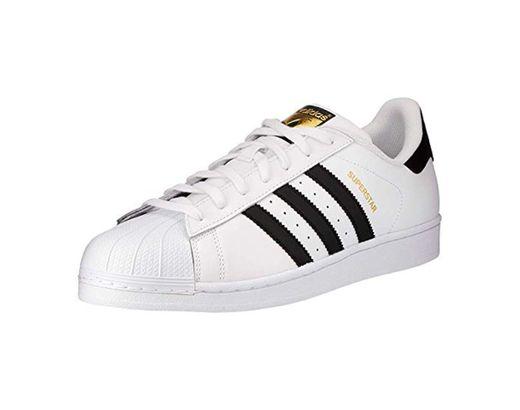 Adidas Originals Superstar, Zapatillas Unisex Niños, Blanco