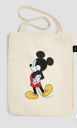 Shopper Mickey Mouse Pull&bear
