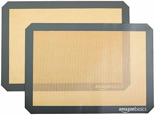 AmazonBasics - Tapete de silicona para hornear