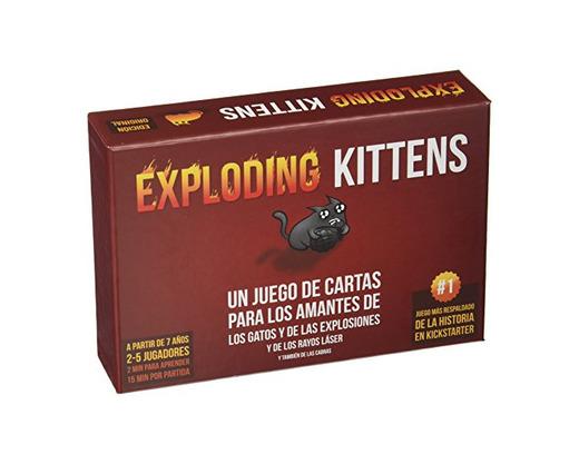 Exploding Kittens- Juego de Cartas