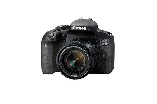 Canon EOS 800D - Cámara RÉFLEX de 24.2 MP